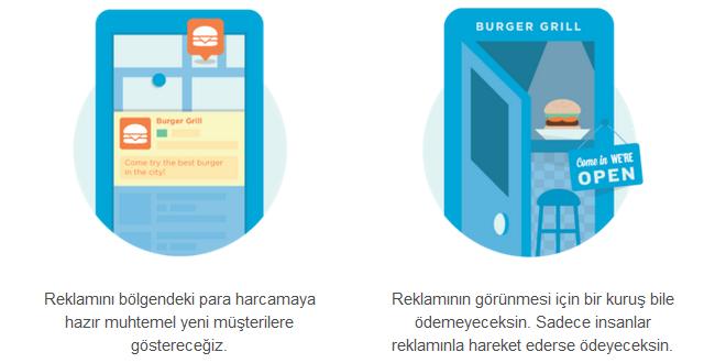 Foursquare reklamlari